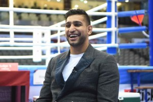 Amir Khan Doha 2015 AIBA World Boxing Championships