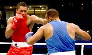 Joseph Joyce  Day 4 Doha 2015 AIBA World Boxing Championships
