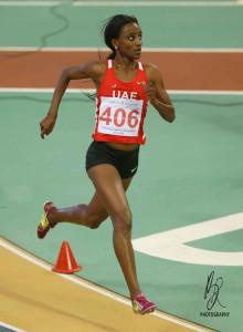 BETLHEM DESA (UAE) 3000 m Women GOLD