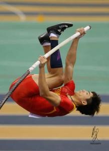 HUANG BOKAI (CHN)Pole Vault GOLD