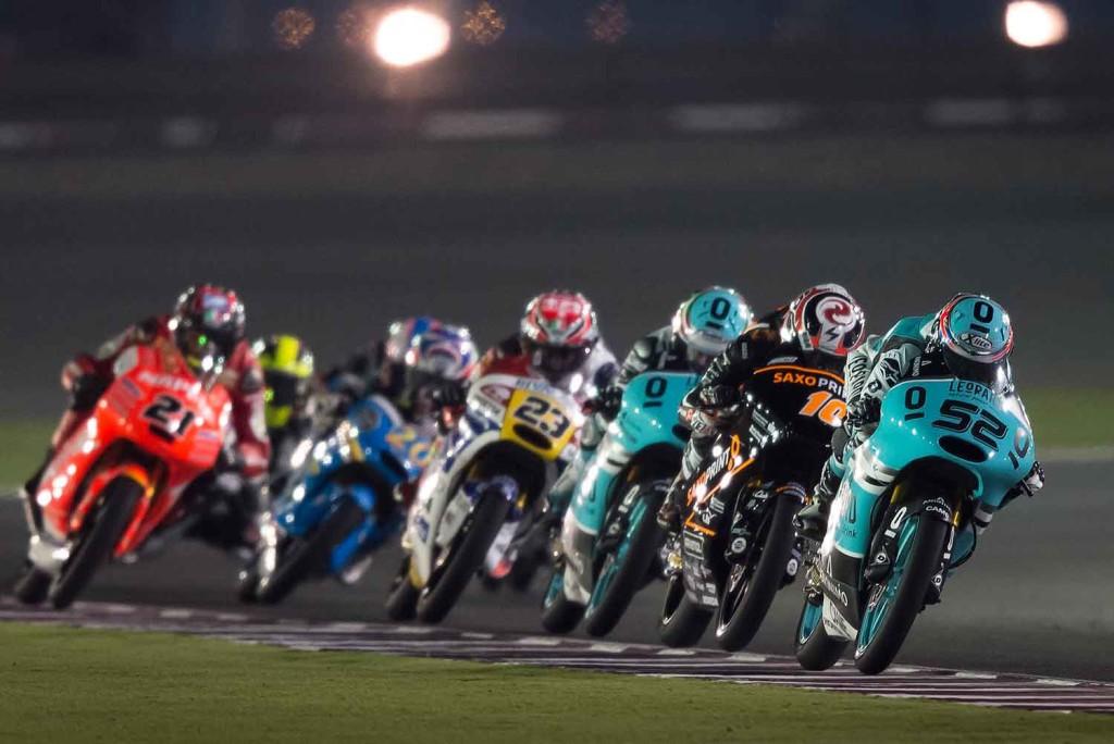 Kent leading Moto3 race in qatar