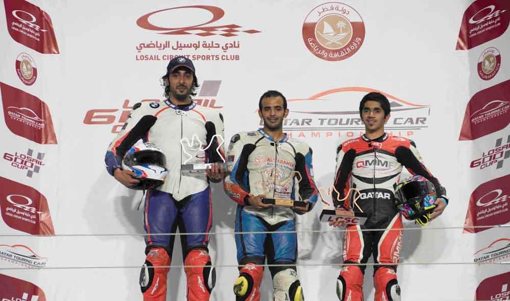 _Losail CUP final championship podium - Al Khater - Al Thani -  Al Qubaisi